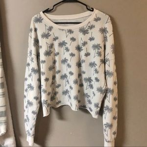 Zoe + Liv palm tree sweater